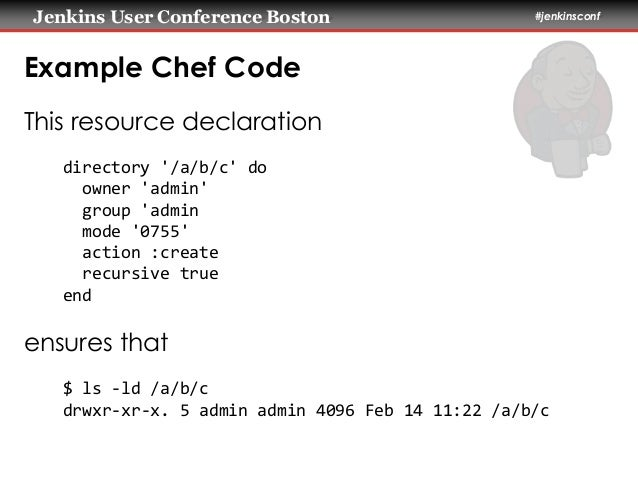 Jenkins And Chef Infrastructure Ci And Automated Deployment
