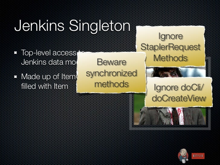 Jenkins Singleton                                     Ignore                                 StaplerRequest Top-level acce...