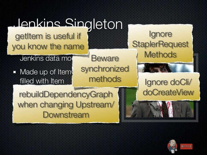 Jenkins Singleton getItem is useful if                 Ignoreyou know access to                StaplerRequest  Top-level t...