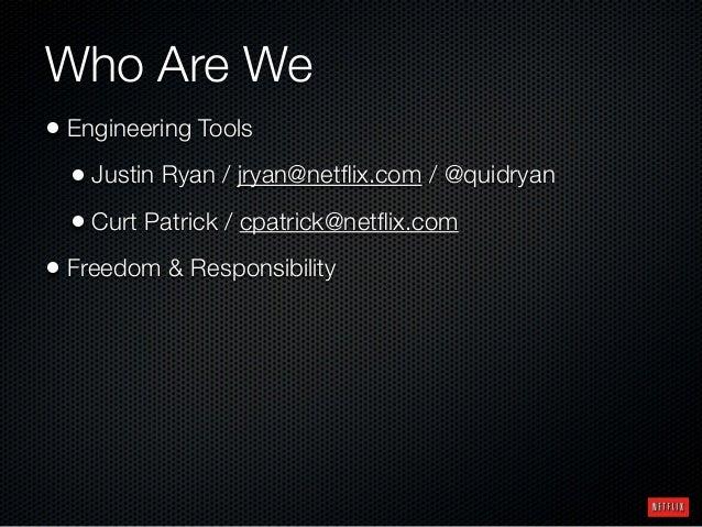Configuration As Code - Adoption of the Job DSL Plugin at Netflix Slide 2