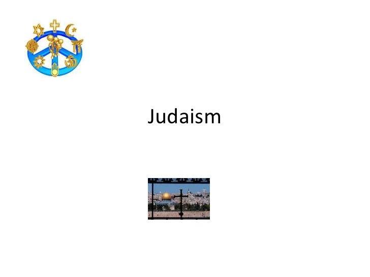 Judaism<br />
