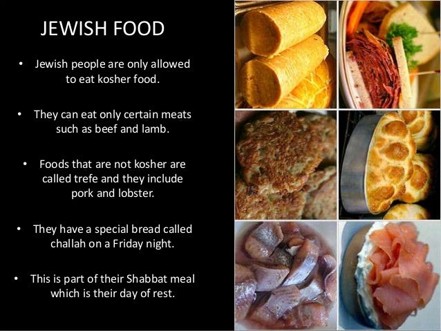 Foods Jewish Cant Eat