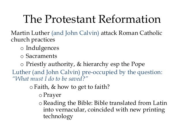 fragmentation of western christendom View notes - ch 24 from history world hist at walled lake western high school chapter 24 i the fragmentation of western christendom a the protestant reformation 1.