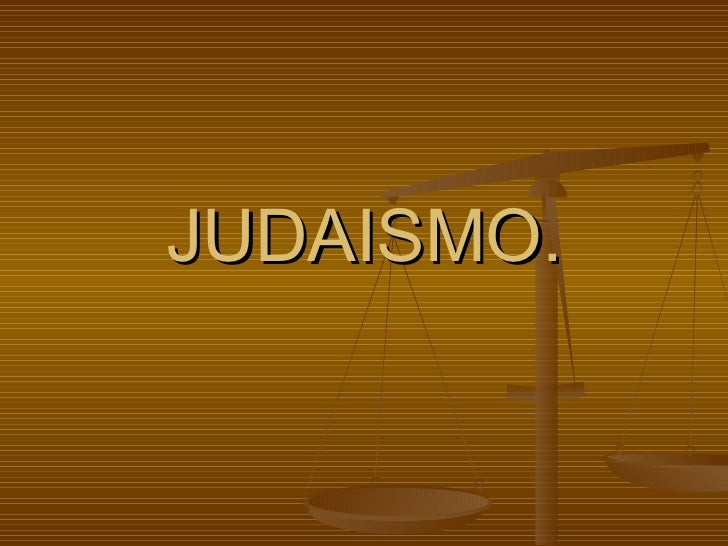 JUDAISMO.