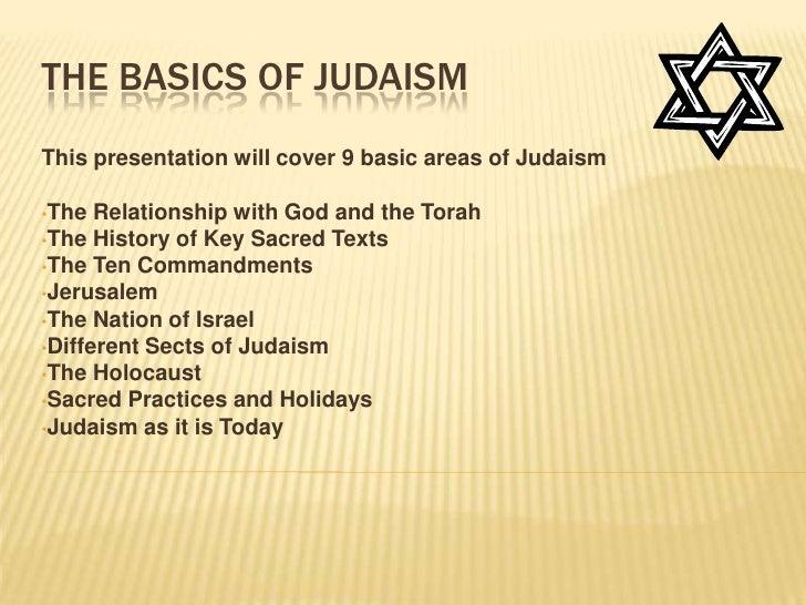 Judaism presentation