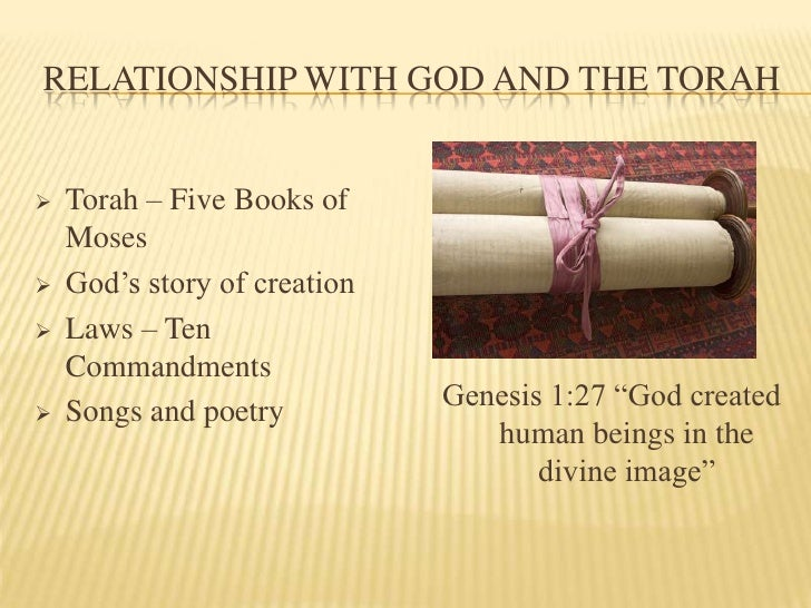 judaism presentation Judaism - the judaic tradition: a paradigmatic statement is made in the narrative  that  statements borrowed from other traditions to govern the presentation.