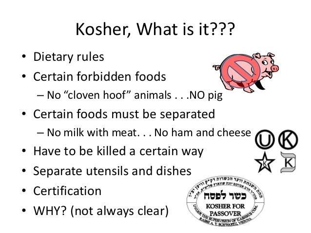 kosher kitchen why separate meat and dairy michael and all disciple s class judaism 775
