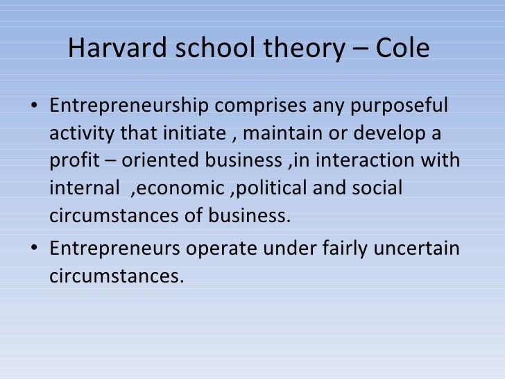 entrepreneurship approach characteristics Scholars and governments presumed that growing the rate of entrepreneurs would naturally result in economic and job growth, and entrepreneurship has widely been viewed as an important tool for.