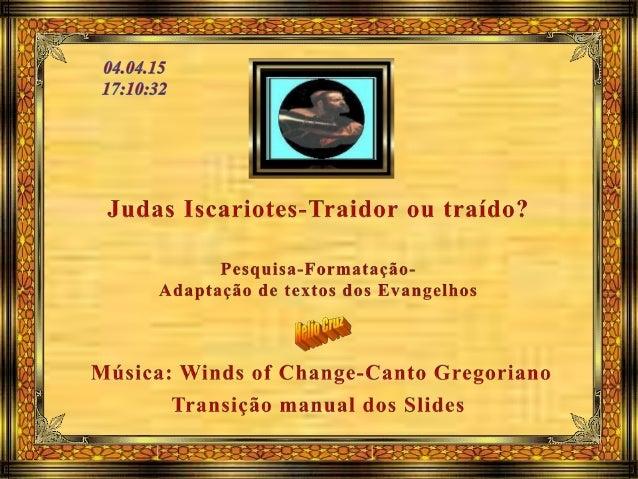 Judas Iscariotes foi um dos doze apóstolos de Jesus Cristo. Nascido em Kerioth, localidade da Judeia, era o único seguidor...