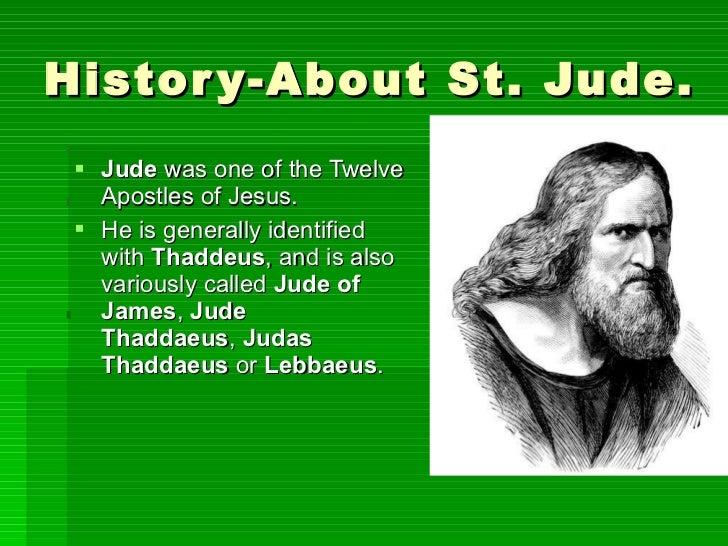 st jude thaddeus life story
