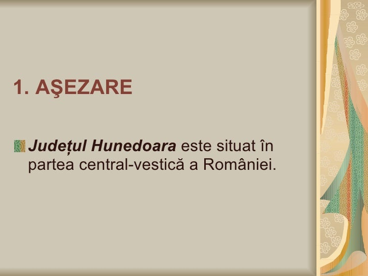 Judetul Hunedoara Slide 2