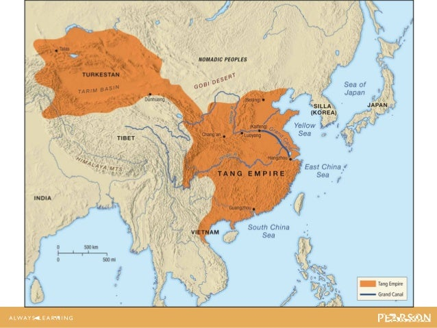 Judge ch14 lecture map 143 china under the tang dynasty 618907 sciox Choice Image