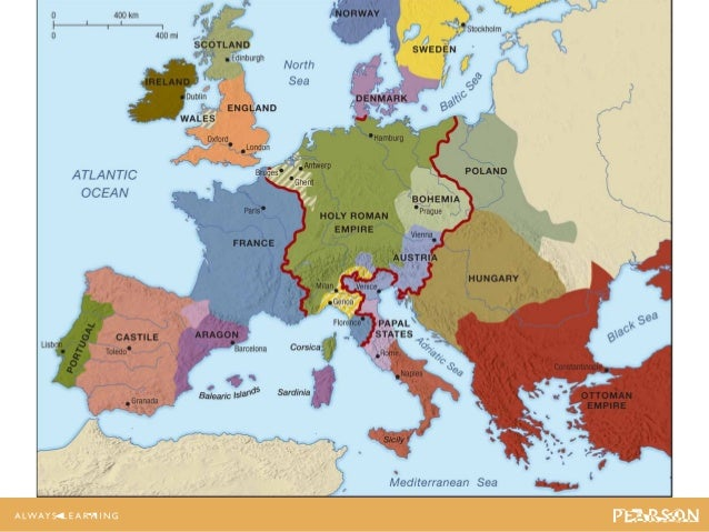 Judge Ch Lecture - Europe map 15th century