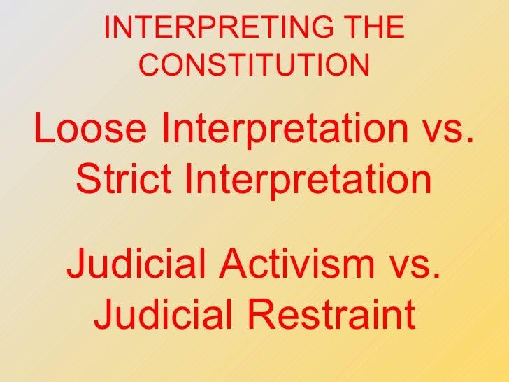 Image Result For Judicial Activism Vs Judicial Restraint