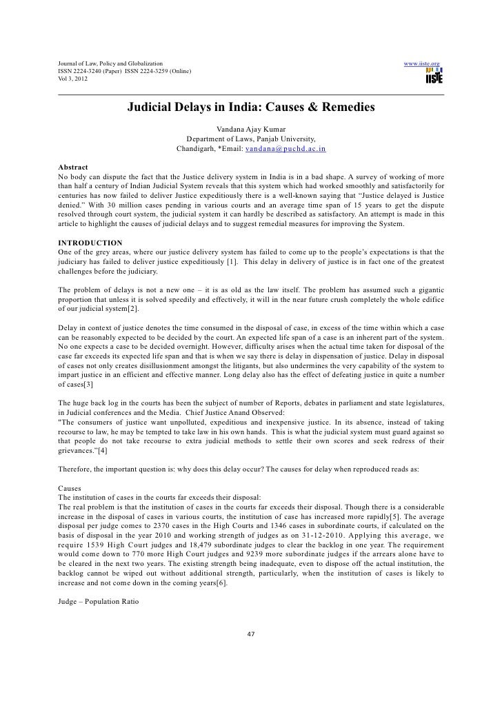 Journal of Law, Policy and Globalization                                                                       www.iiste.o...