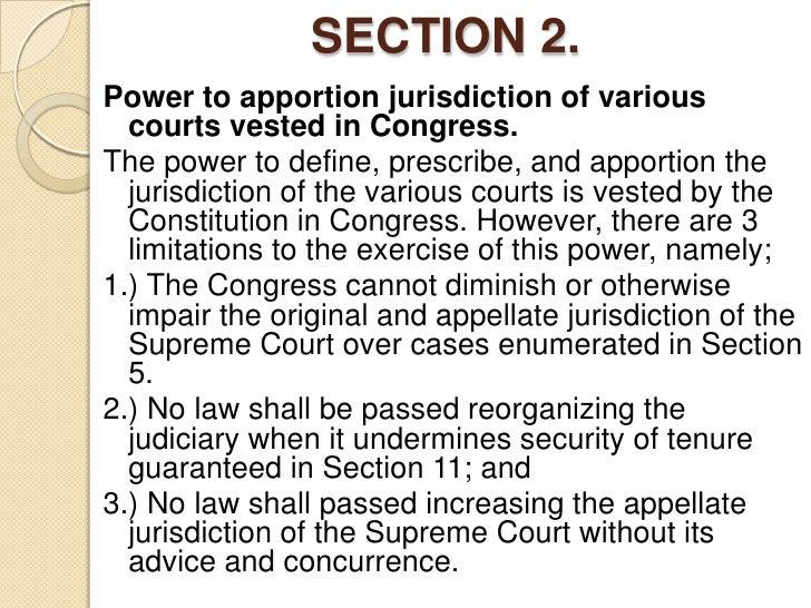 Judicial dept