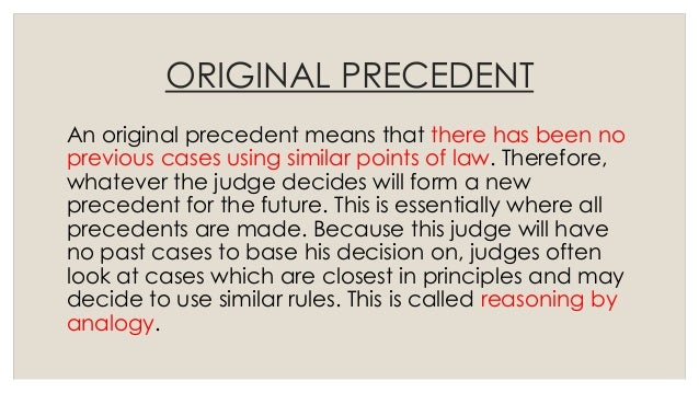 doctrine judicial precedent Free essay: judicial precedent a) explain what is meant by the doctrine of precedent (11) b) what are the advantages and disadvantages of the doctrine of.