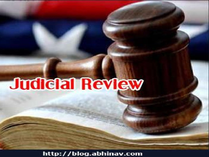 Judicial Review | Definition of Judicial Review by Merriam ...