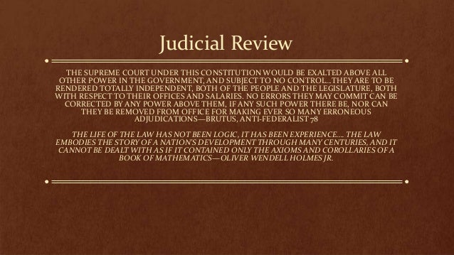 Judicial Review - National Paralegal College