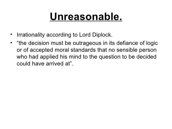 wednesbury unreasonableness essay help