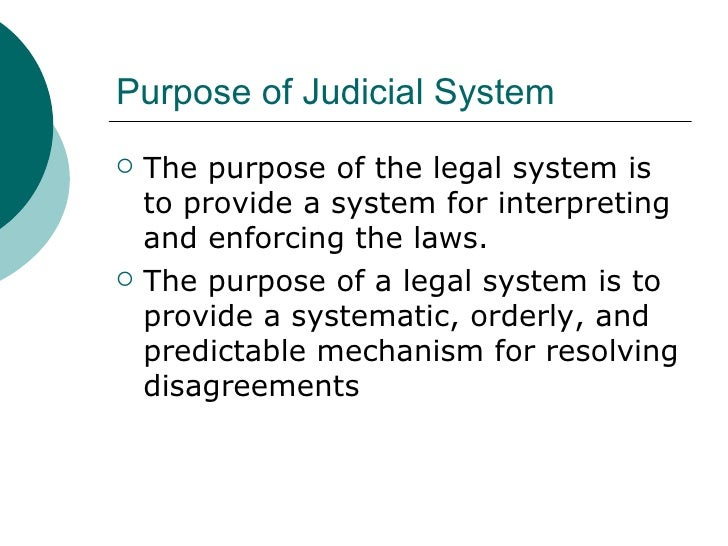 Role Of Judiciary : Court 's Guidelines