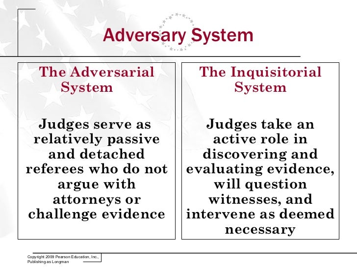 adversarial system of trial