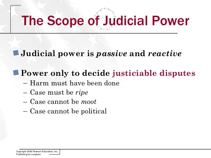 Give An Example Of A Use Of Judicial Power Gallery Example Cover