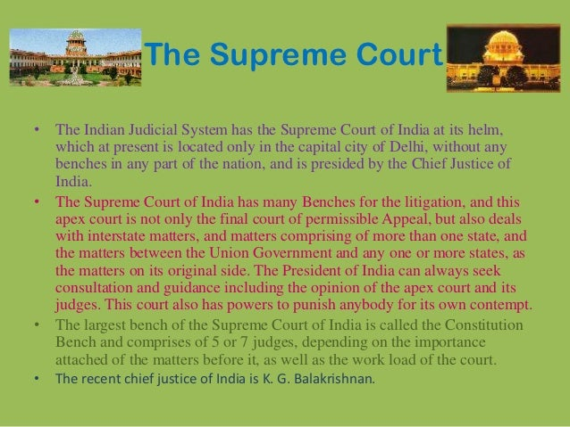 judicial review and indian courts Guarantor of individual rights as well the israeli supreme court has also greatly  expanded its power of constitutional review, and the su- preme court of india.