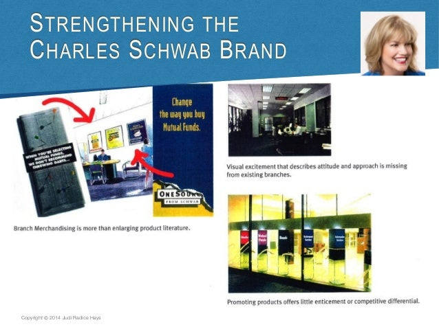 charles schwab case study analysis Charles schwab & co inc (b): in 2003 case solution,charles schwab & co inc (b): in 2003 case analysis, charles schwab & co inc (b): in 2003 case study solution, the problems and opportunities facing charles schwab in 2003 the company is one of the leading brokers, but the entire industry has been in serious declin.