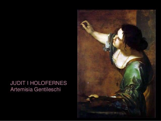 JUDIT I HOLOFERNES Artemisia Gentileschi