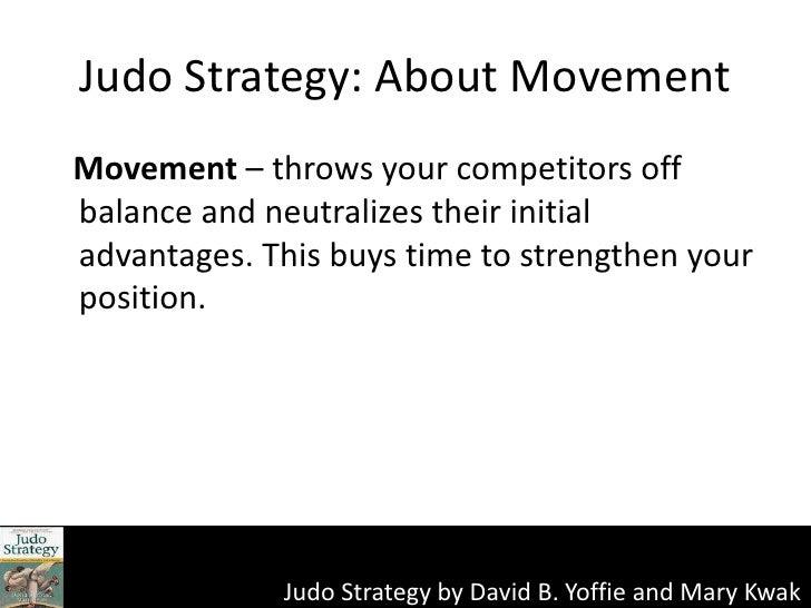Puppy Dog Ploy Judo Strategy