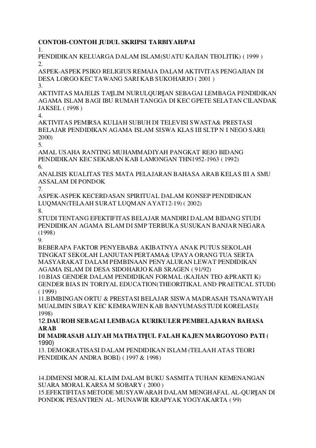 Contoh Proposal Skripsi Bahasa Inggris Kualitatif Word Fasrvilla
