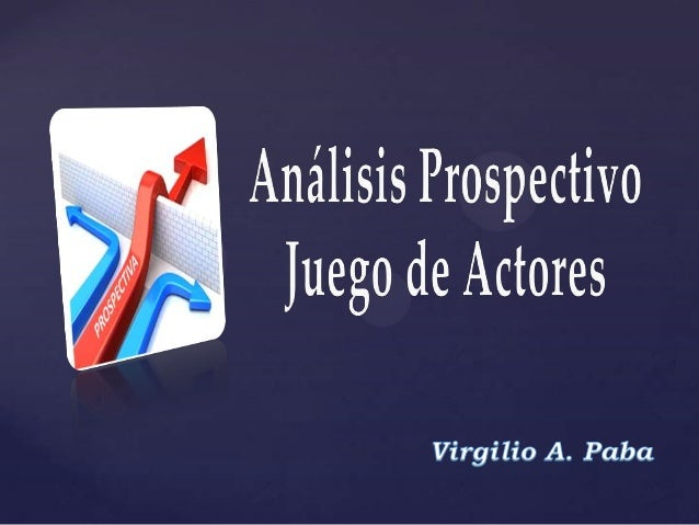 El análisis del JUEGO DE ACTORES es un método interactivo que permite comprender y analizar de manera rápida y eficaz, los...
