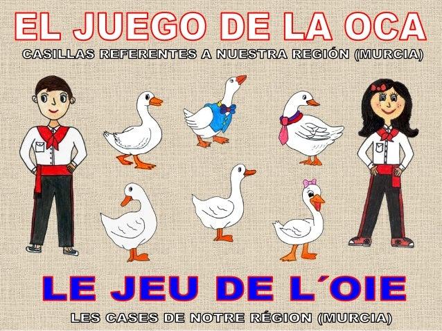 ¡HOLA!, YA NOS CONOCÉIS, SOMOS MARI CRUZ Y MANOLO. OS VAMOS A PRESENTAR EL PROCESO DE REALIZACIÓN DEL JUEGO DE LA OCA REFE...