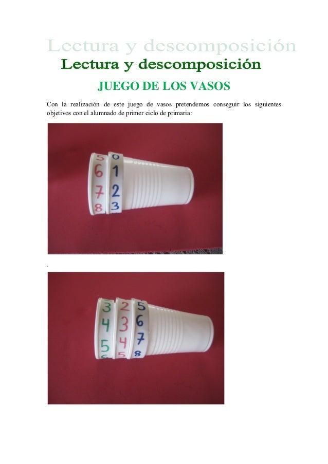 Juego De Los Vasos