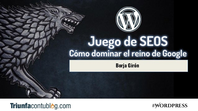 #Wordpress Borja Girón