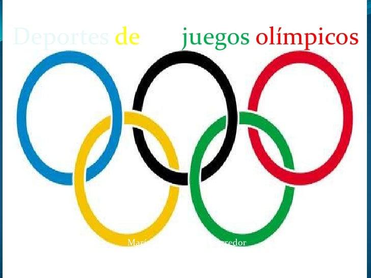 Deportes de los juegos olímpicos          María paula Ramírez corredor                       9-1