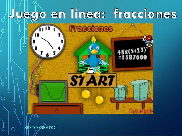 Juego Online De Fracciones
