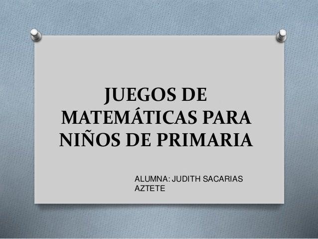 Juegos De Matematicas Para Ninos De Primaria12