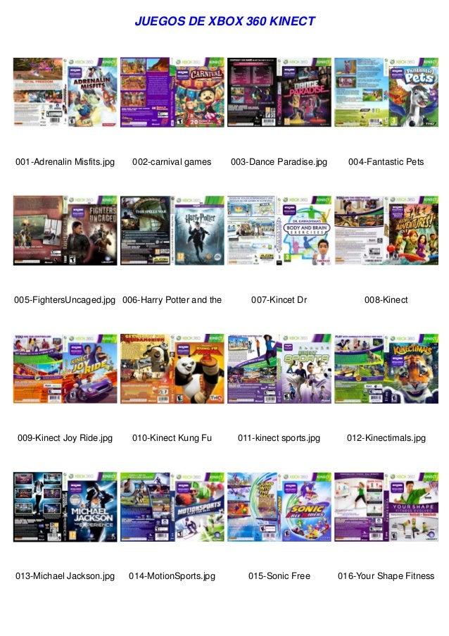 Juegos De Xbox 360 Kinect