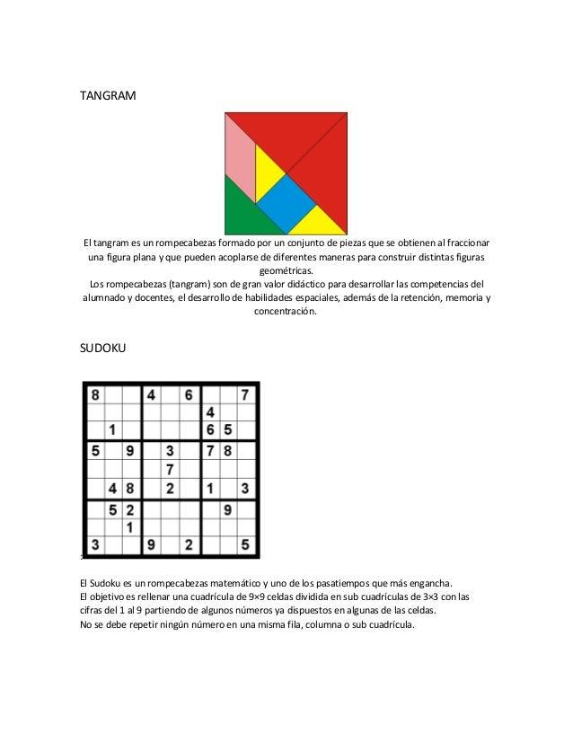 f1a7e618f TANGRAM El tangram es un rompecabezas formado por un conjunto de piezas que  se obtienen al ...