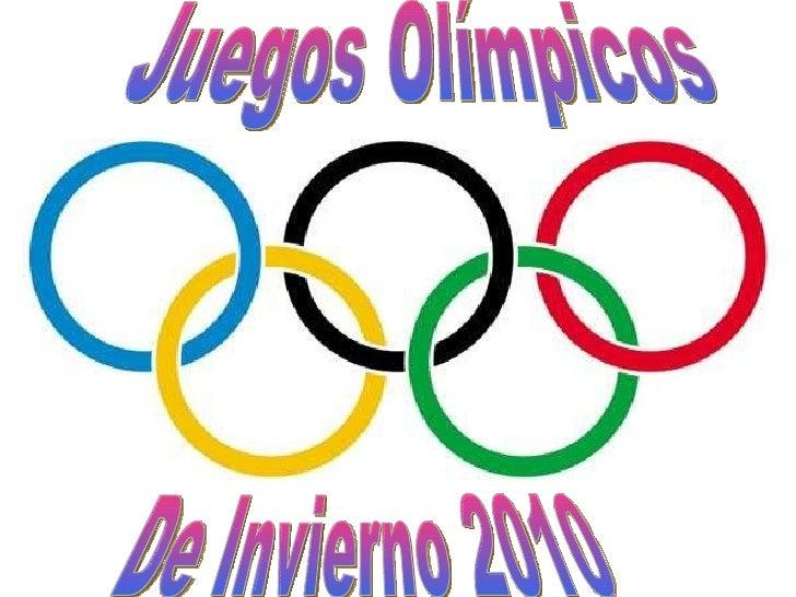 Juegos Olímpicos De Invierno 2010