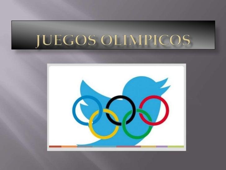 LOS JUEGOS OLIMPICOS SE LLEVAN ACABO     DESDE HACE MUCHO TIEMPO.EMPEZARON EN  GRECIA, DONDE SE HACIAN COMO SACRIFICIO A L...