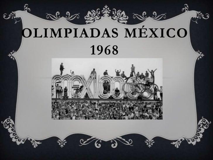Juegos Olimpicos 1968