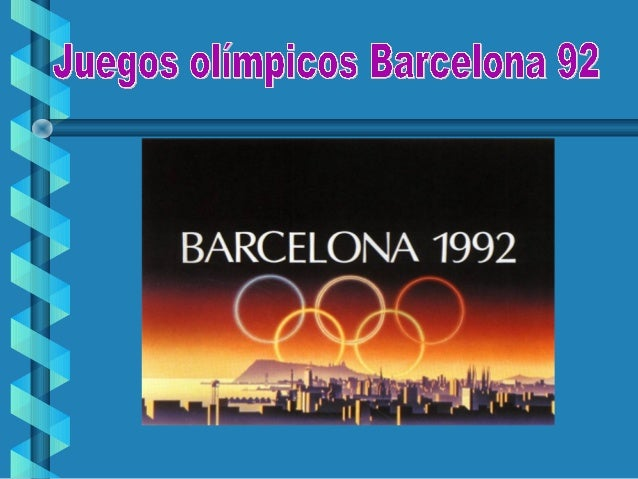 Juegos Olimpicos Barcelona 92 Dunia Y Ariadna