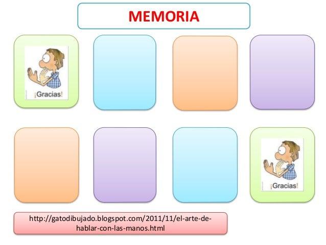 Juegos para aprendizaje de señas Slide 2