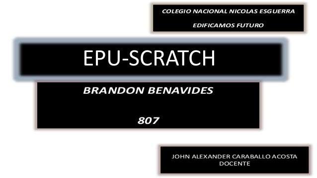 EPU-SCRATCH