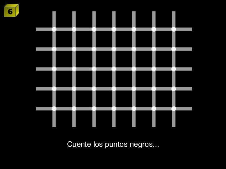 Cuente los puntos negros... 6
