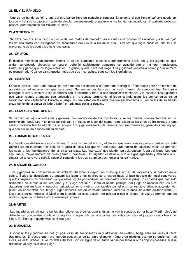 Juegos Sociales Y Dinamicas Para Ninos Mas De 800