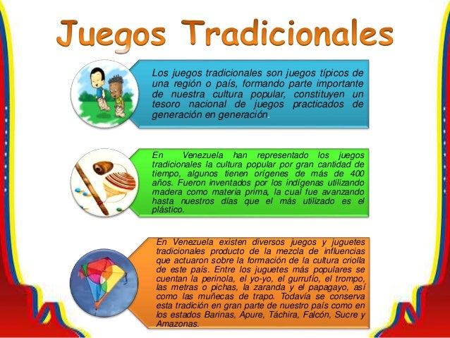 Los juegos tradicionales son juegos típicos de una región o país, formando parte importante de nuestra cultura popular, co...